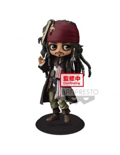 Figura Jack Sparrow Piratas del Caribe Disney Q Posket B 14cm