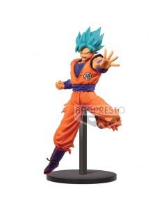 Figura Chosenshiretsuden Super Saiyan God Super Saiyan Son Goku Dragon Ball Super 16cm