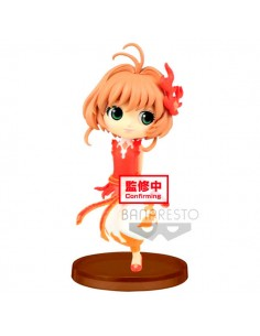Figura Sakura Kinomoto Cardcaptor Sakura Clear Card Q Posket 7cm