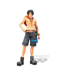 Figura D Ace Portgas Grandista Manga Dimensions One Piece 27cm