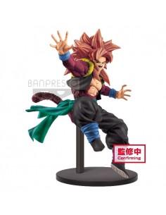 Figura Super Saiyan 4 Gogeta Zeno Super Dragon Ball Heroes 9th Anniversary 18cm