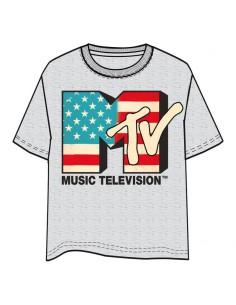 Camiseta Logo MTV Music adulto