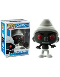 Figura POP The Smurfs Black Smurf Exclusive