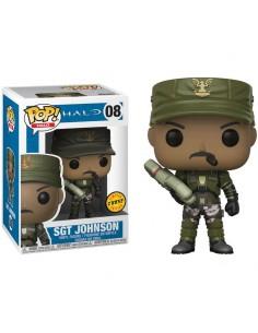 Figura POP Halo Sgt Johnson Chase