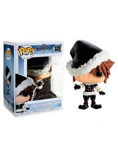 Figura POP Disney Kingdom Hearts Christmastown Sora Exclusive