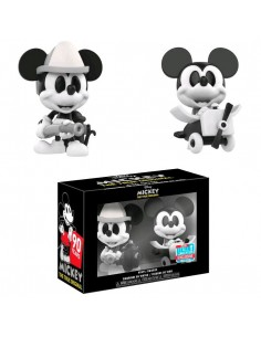 Figuras Mini Vinyl Disney Mickey Mouse Black White Exclusive