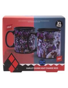 Taza termica Harley Quinn DC Comics