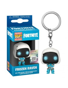 Llavero Pocket POP Fortnite Frozen Raven