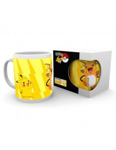 Taza Pikachu Evolve Pokemon