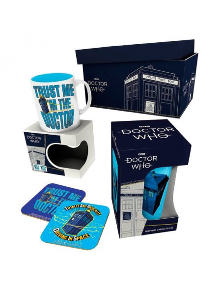 Caja regalo Tardis Doctor Who