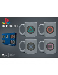 Set taza espresso Playstation