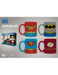 Set taza espresso DC Comics