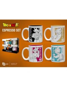 Set taza espresso Dragon Ball Super