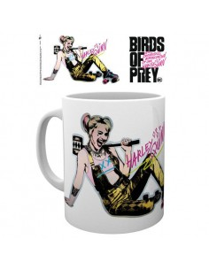 Taza Roller Skates Birds of Prey DC Comics