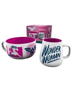 Set desayuno Wonder Woman DC Comics