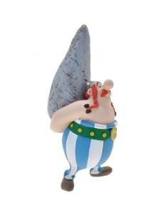 Figura Obelix con Menhir Asterix El Galo 9cm
