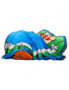 Cojin con forma Obelix durmiendo