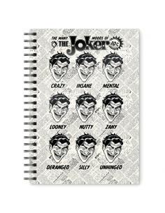 Cuaderno A5 Joker DC Comics