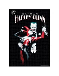 Puzzle Joker and Harley Quinn DC Comics 1000pzs