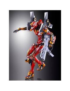 Figura Diecast Metal Build EVA 02 Production Model EVA 2020 Ver Neon Genesis Evangelion 22cm