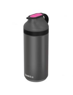 Botella Mineral Steel Pink Fluorite Quokka 335ml