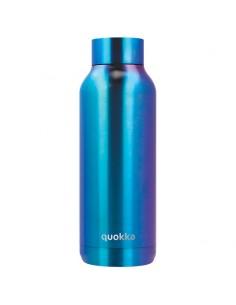 Botella Solid Blue Chrome Quokka 510ml