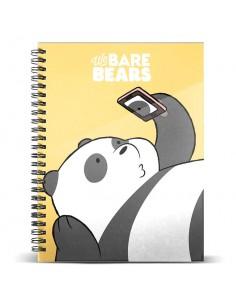 Cuaderno A4 Oso Panda We Bare Bears