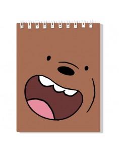 Libreta Oso Pardo We Bare Bears