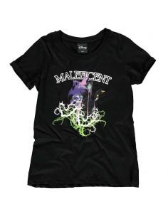 Camiseta mujer Malefica Villanas Disney