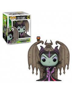 Figura POP Disney Villains Maleficent with Throne