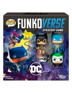 Juego mesa POP Funkoverse DC Comics 4fig Espanol