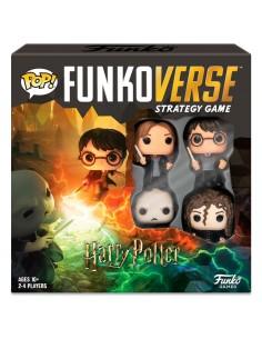 Juego mesa POP Funkoverse Harry Potter 4fig Espanol