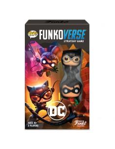 Juego mesa POP Funkoverse DC Comics 2fig Espanol