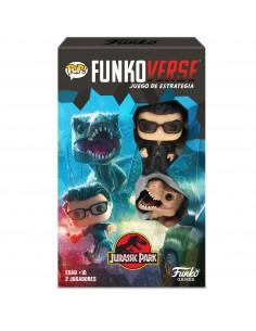 Juego mesa POP Funkoverse Jurassic Park 2fig Espanol