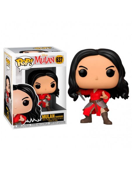 Figura POP Disney Mulan Live Warrior Mulan