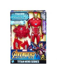 Figura Titan Hero Power FX Iron Man Vengadores Avengers Marvel 30cm