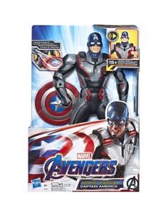 Figura electronica Capitan America Vengadores Marvel 33cm