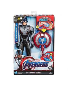 Figura Titan Power FX Capitan America Vengadores Avengers Marvel 30cm