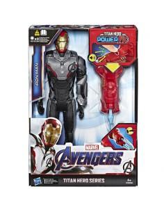 Figura Titan Hero Power Iron Man Vengadores Marvel 30cm