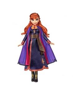 Muneca cantarina Anna Frozen 2 Disney 30cm