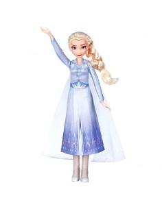 Muneca cantarina Elsa Frozen 2 Disney 30cm