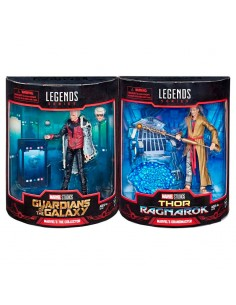 Pack 2 figuras Grandmaster The Collector Marvel Legends