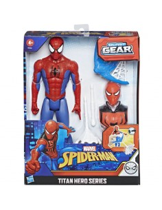 Figura Titan Hero Series Spiderman Marvel 30cm