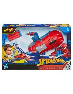 Lanzador Aracnido Spiderman Marvel Nerf