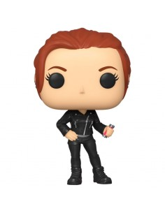 Figura POP Marvel Black Widow Street