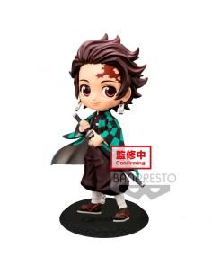 Figura Tanjiro Kamado Kimetsu No Yaiba Q Posket A 14cm