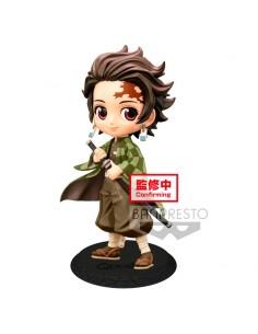 Figura Tanjiro Kamado Kimetsu No Yaiba Q Posket B 14cm