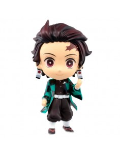Figura Chibi Kyun chara Tanjiro Kamado The Third Demon Slayer Kimetsu No Yaiba 6cm