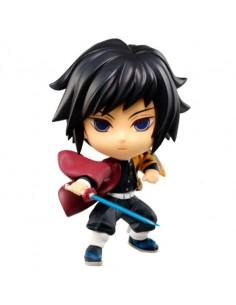 Figura Chibi Kyun chara Giyu Tomioka The Third Demon Slayer Kimetsu No Yaiba 6cm