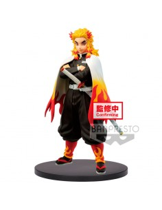 Figura Kyojuro Rengoku Demon Slayer Kimetsu no Yaiba 15cm